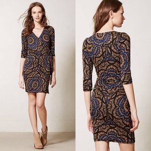 Anthropologie Vanessa Virginia Lena Wrap Dress